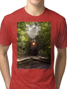 Essex Steam Train Tri-blend T-Shirt