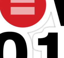 Equal Love Now 2014 Sticker