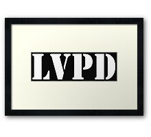 LVPD Framed Print