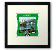 Jamaica - The Land Of Many Springs Framed Print
