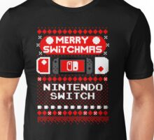 MERRY SWITCHMAS UGLY SWEATER Unisex T-Shirt