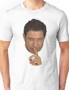 Jeff Goldblum Shush Face Unisex T-Shirt