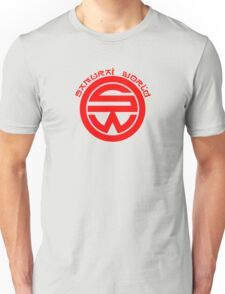 Westworld Samurai World Red Symbol Unisex T-Shirt