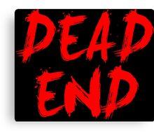 Dead End Anime Manga Shirt Canvas Print