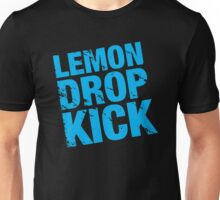 Lemon Drop Kick Logo - Cyan Blue Unisex T-Shirt