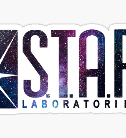 Black Galaxy S.T.A.R. Labs Sticker