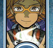 Persona Arcana - Yosuke the Magician by playerprophet