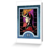 Persona Arcana - Yukiko the Priestess Greeting Card