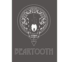 Beartooth Fan Art White Photographic Print