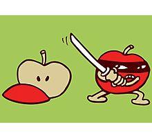 pomme ninja apple Photographic Print