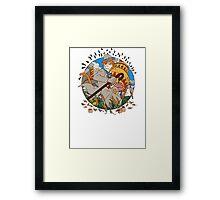 Cat Retu! Framed Print