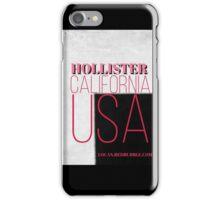 Hollister California USA iPhone Case/Skin