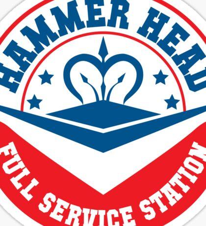 Hammer Head Garage - Full Service Station Sticker