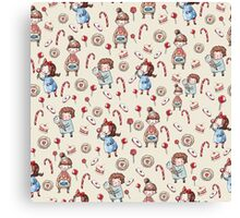 Sweet Tooth Girls Canvas Print