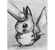 Pet pikachu Photographic Print