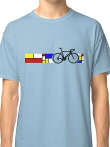 Bike Stripes Mondrian Classic T-Shirt