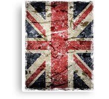 Union Jack British Flag Canvas Print