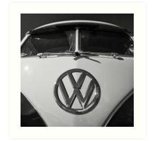 VW Split Screen camper / bus Art Print