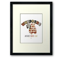 Whipping Framed Print