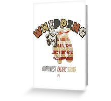 Whipping Greeting Card
