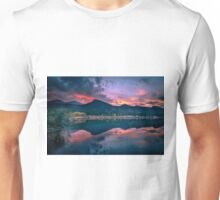 Lily Lake in Estes Park, Colorado. Unisex T-Shirt