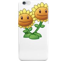 Plants vs Zombies 2 - Twin Sunflower iPhone Case/Skin