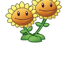 Plants vs Zombies 2 - Twin Sunflower by DeepThought