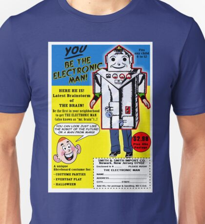 Electronic Man  Comic Book Ad Unisex T-Shirt