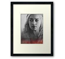 Khaleesi game of thrones Daenerys Framed Print