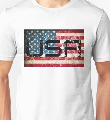 Distressed American Flag Unisex T-Shirt