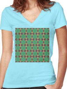 Beverly Women's Fitted V-Neck T-Shirt