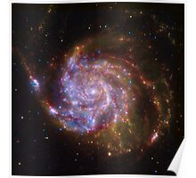 Spiral Galaxy Outer Space Poster