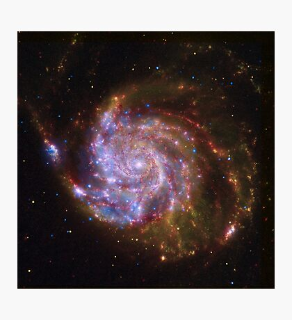 Spiral Galaxy Outer Space Photographic Print