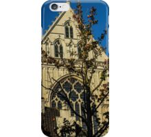 Majestic Cathedral/Hidden by the Tree - Travel Photography  iPhone Case/Skin