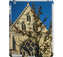 Majestic Cathedral/Hidden by the Tree - Travel Photography  iPad Case/Skin