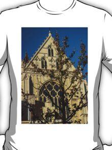 Majestic Cathedral/Hidden by the Tree - Travel Photography  T-Shirt