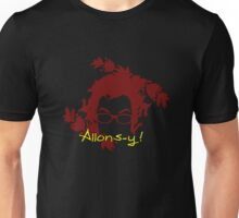 alons-y love doctor who Unisex T-Shirt