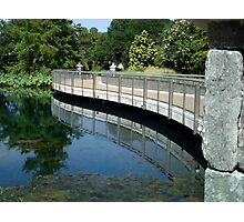 Bridge Reflection - Calendar Image   ^ Photographic Print