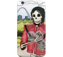 Undead Guy, St. Louis Arch, Snow Globes iPhone Case/Skin