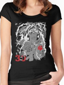 Naughty Dog 30th Anniversary - Chaos Women's Fitted Scoop T-Shirt