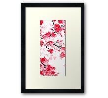 Cherry Blossoms Triptych II Framed Print