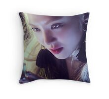 snsd hyoyeon Throw Pillow