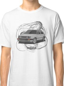 Volkswagen Golf GTI G60 (silver) Classic T-Shirt
