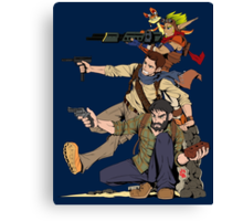 Naughty Dog - Drake, Joel, Jak Canvas Print