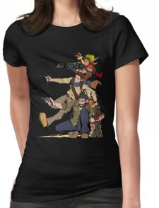 Naughty Dog - Drake, Joel, Jak Womens Fitted T-Shirt