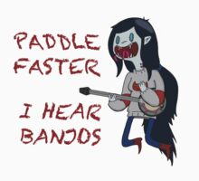 Paddle Faster I hear Banjos (With phrase) by SAMSIL