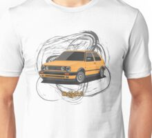 Volkswagen Golf GTI G60 (yellow) Unisex T-Shirt