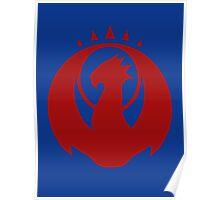 Izzet League Symbol Poster
