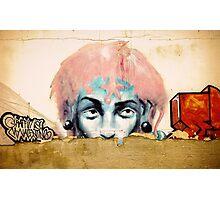 GRAFFITI IS MY VALENTINE Photographic Print
