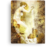 Winsome Woman Canvas Print